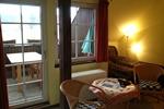 Wohnzimmer der Ferienwohnung für den Familienurlaub in der Lüneburger Heide für 2 Personen