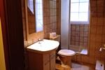 Badezimmer der Ferienwohnungen für den Familienurlaub in der Lüneburger Heide für 2 - 3 Personen