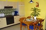 Küche der Ferienwohnungen für den Familienurlaub im Ferienclub Lüneburger Heide für 2 - 4 Personen