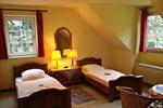 Schlafzimmer der Ferienwohnungen für den Familienurlaub in der Lüneburger Heide für 2 - 3 Personen