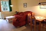 Wohnzimmer in der Ferienwohnung 4 Personen für den Familienurlaub im Ferienclub Lüneburger Heide