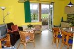 Wohnraum der Ferienwohnungen für den Familienurlaub im Ferienclub Lüneburger Heide für 2 - 4 Personen