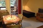 Wohnraum der Ferienwohnungen für den Familienurlaub in der Lüneburger Heide für 2 - 3 Personen