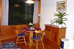 Esszimmer der rustikalen Ferienhäuser für den Familienurlaub in der Lünerburger Heide für zwei Personen
