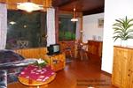 Wohnzimmer der rustikalen Ferienhäuser für den Familienurlaub in der Lünerburger Heide für zwei Personen