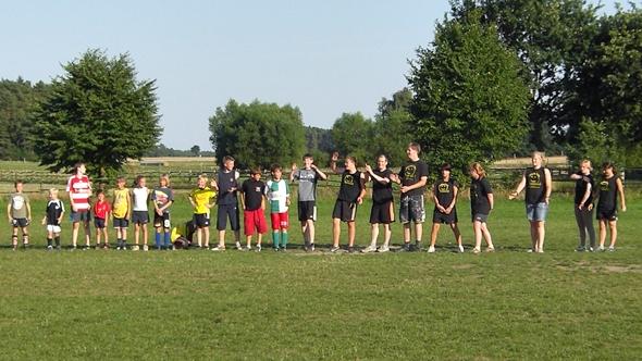 Fussballferien für Kinder und Jugendliche im Ferienclub Lüneburger Heide