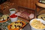 Frühstücksbuffet im Oeerstall - Ein leckeres Frühstücksbuffet um den Urlaub in der Lüneburger Heide zu beginnen
